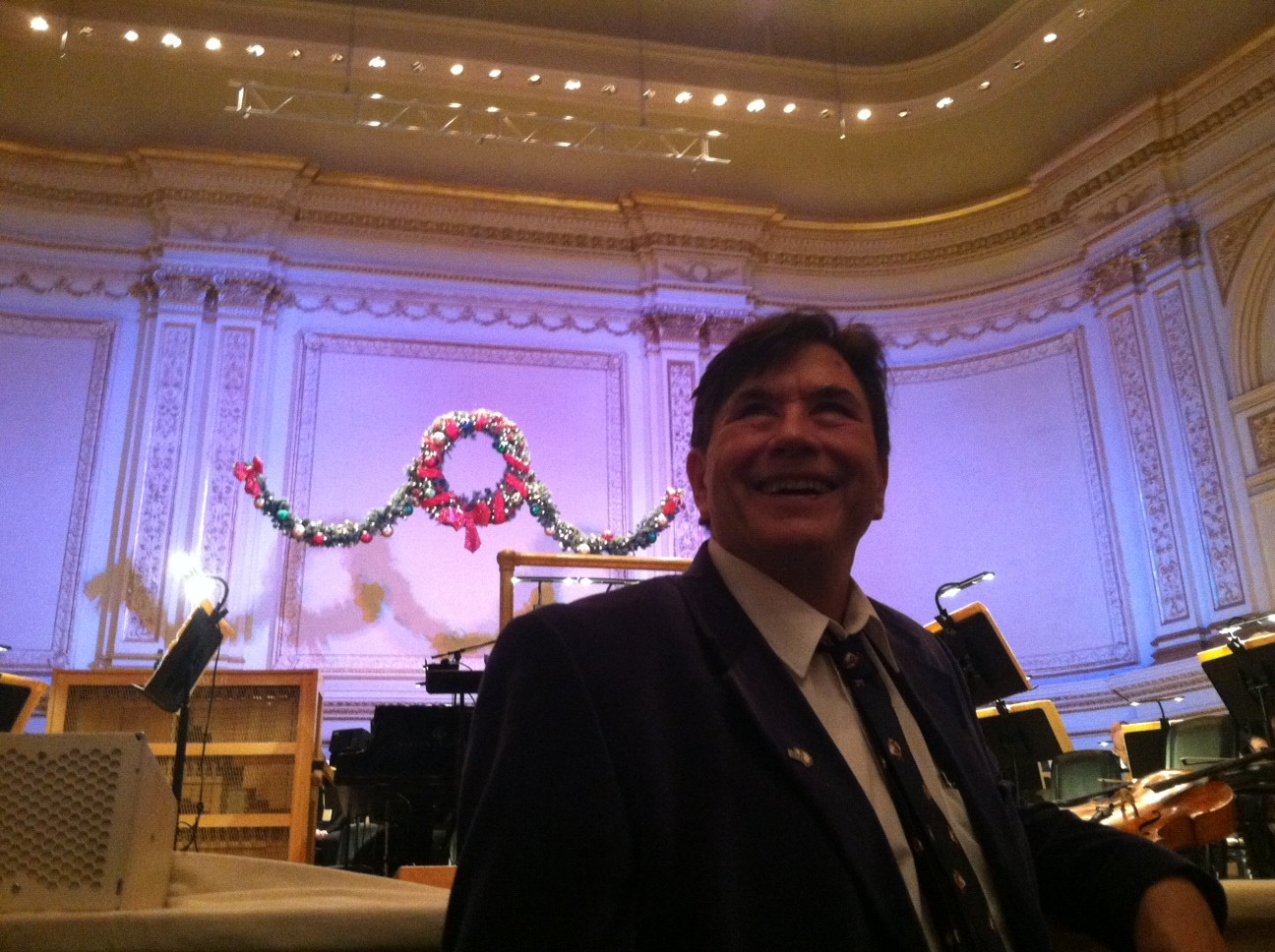 John at the NYC Pops Concert