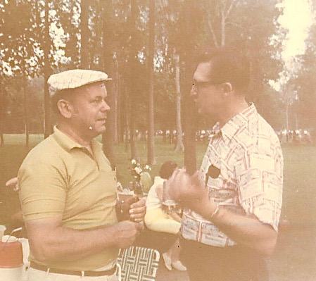 Albert Gudas and ?, Lithuanian Picnic 1970