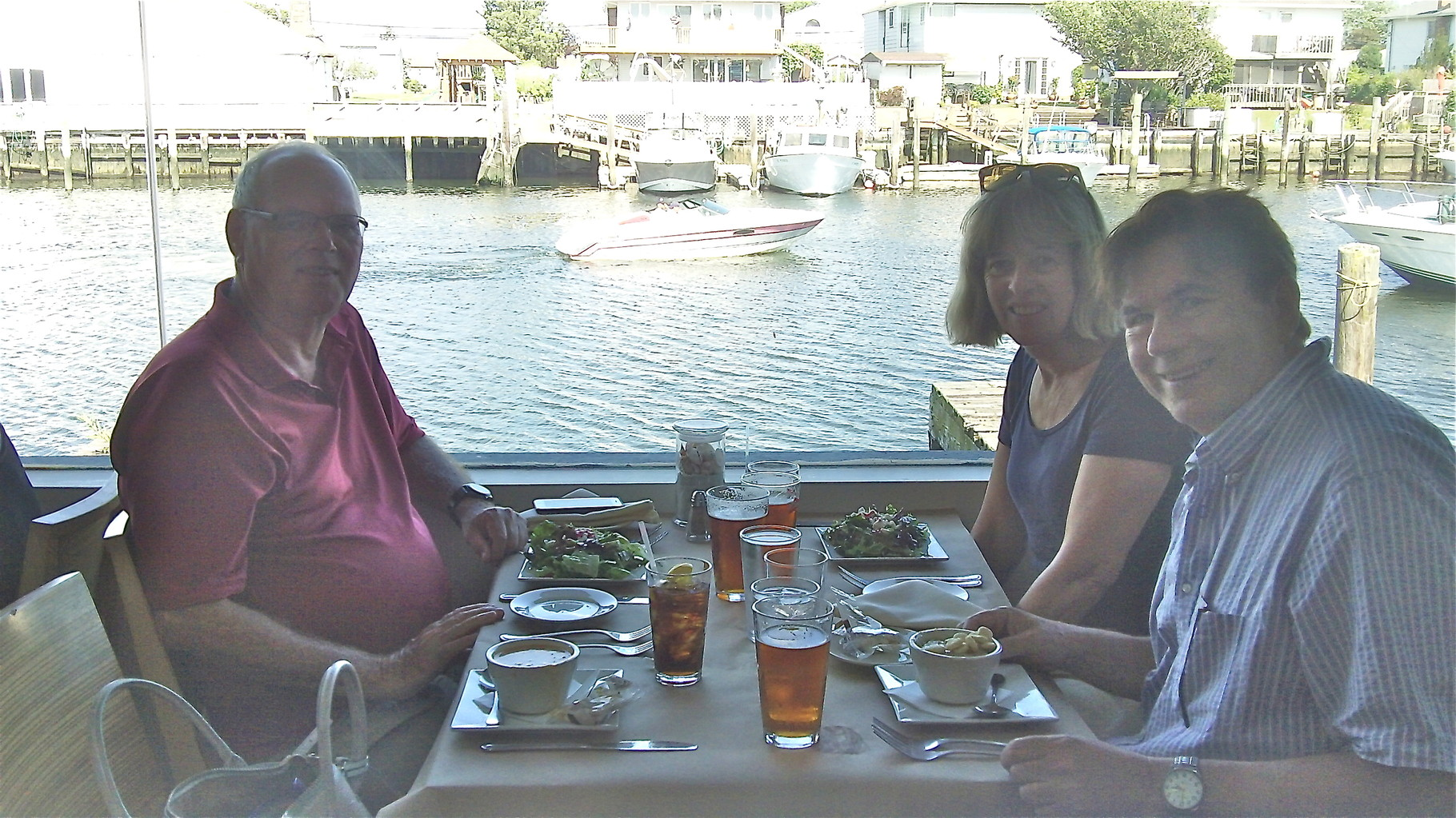 Dinner at Rachel's, Freeport, LI