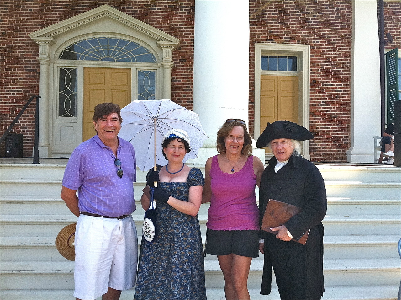 John, Dolley, Lorraine, and James Madison