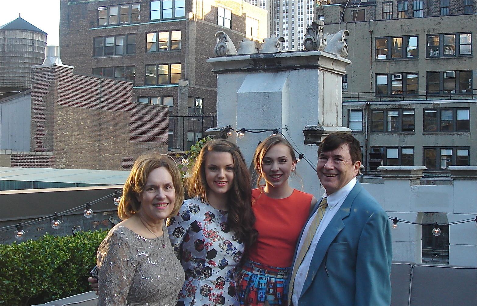 Lorraine, Kate, Gabby, and John