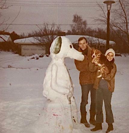 Andy Leighton, Celeste & Snoopy ~1970