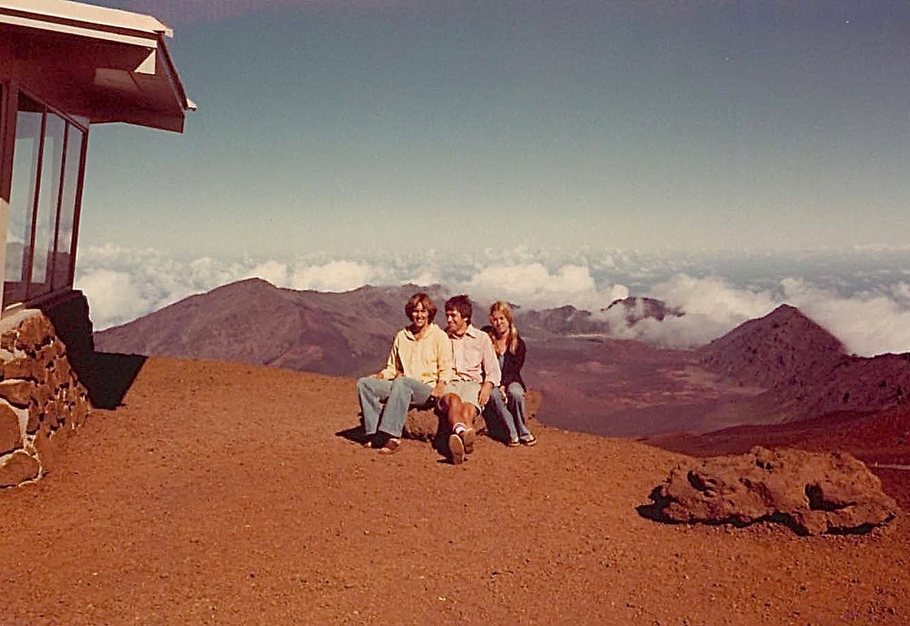 Hawaii Trip, Oct. 1976, Lorraine, John, Shirley Clift, Oct. 1976