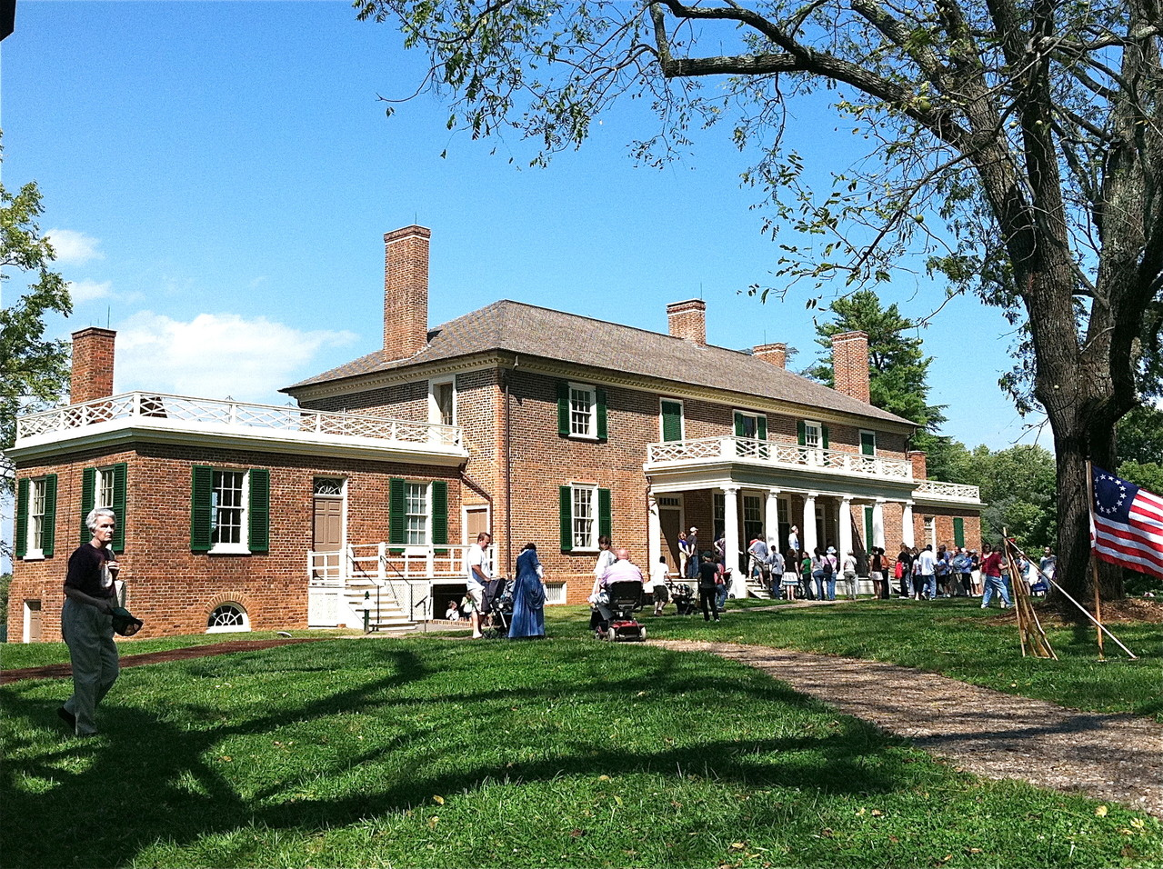 Montpelier is the estate of James and Dolley Madison-we visited on Constitution Day!