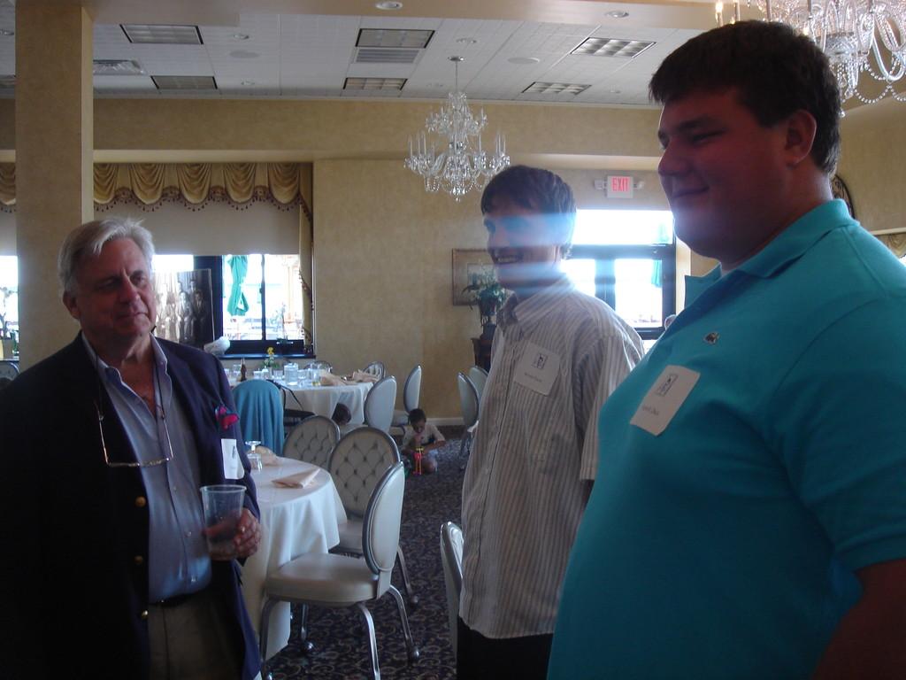 Stuart Kagel (Celeste's partner), Mathew & Tim