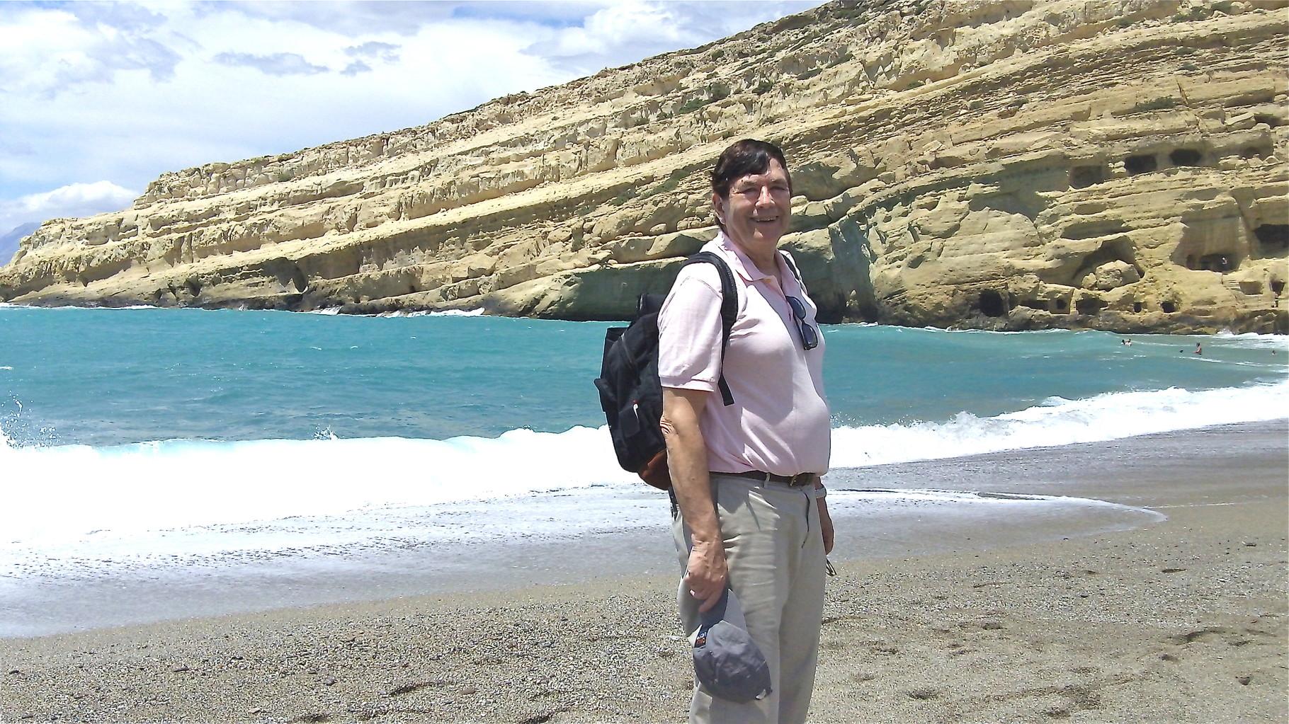 John, Matala Beach