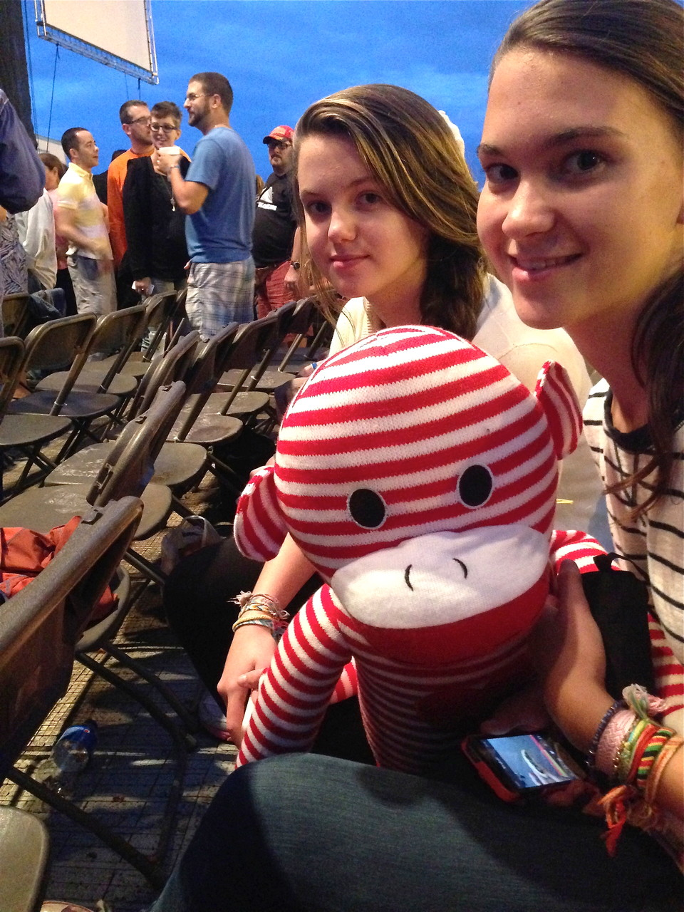 Kate & Ellie at the concert
