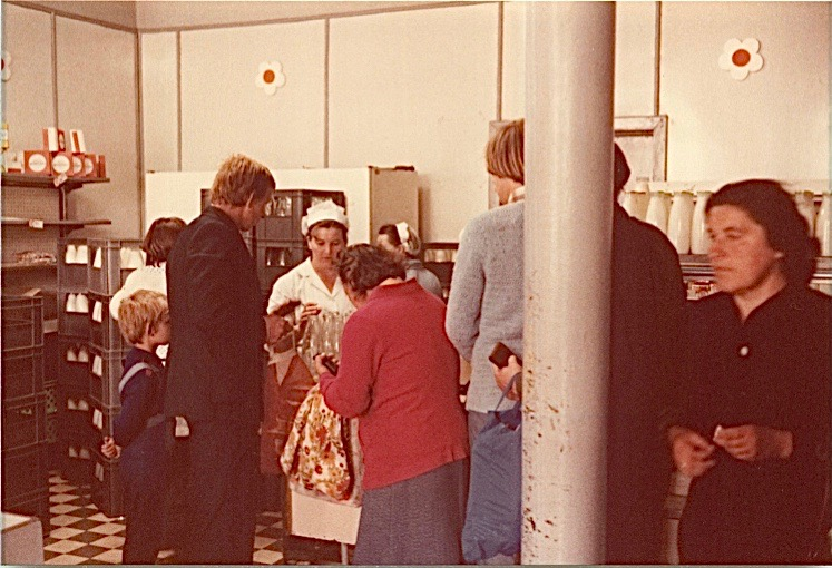 BACK to 1978:  Shopping for milk in Mielec, 1978