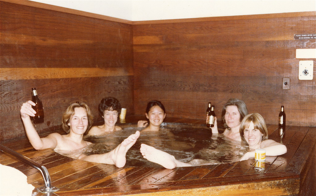 Lorraine, Barbara Levinson, Mary, Mary Ann Wormsted, Shirley Clift, SF, CAL.