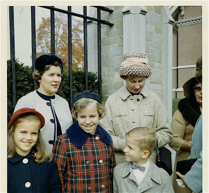 Celeste, Eleanor (Al's wife), Susan, Helen (Tony's wife) Paul   1960s