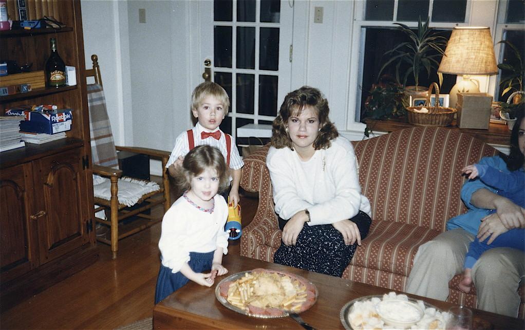 Casey, Greg, & Celeste  1986?