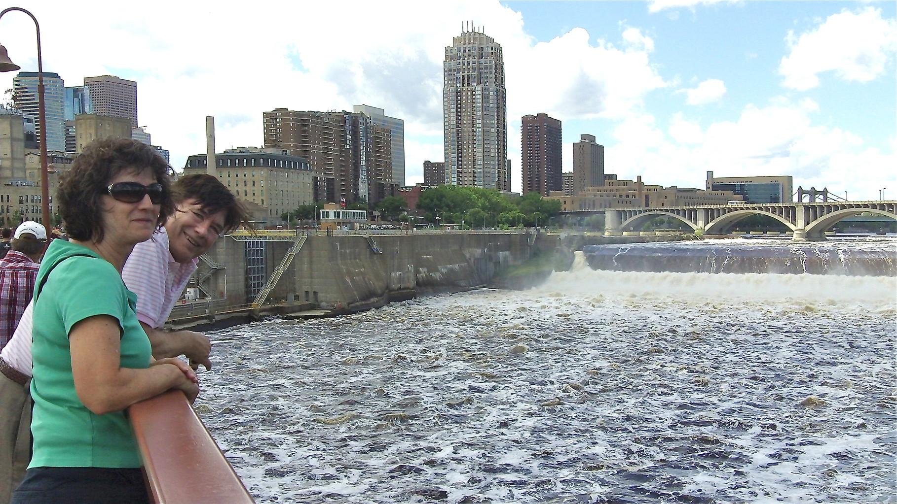 St. Anthony's Falls, Ann & John