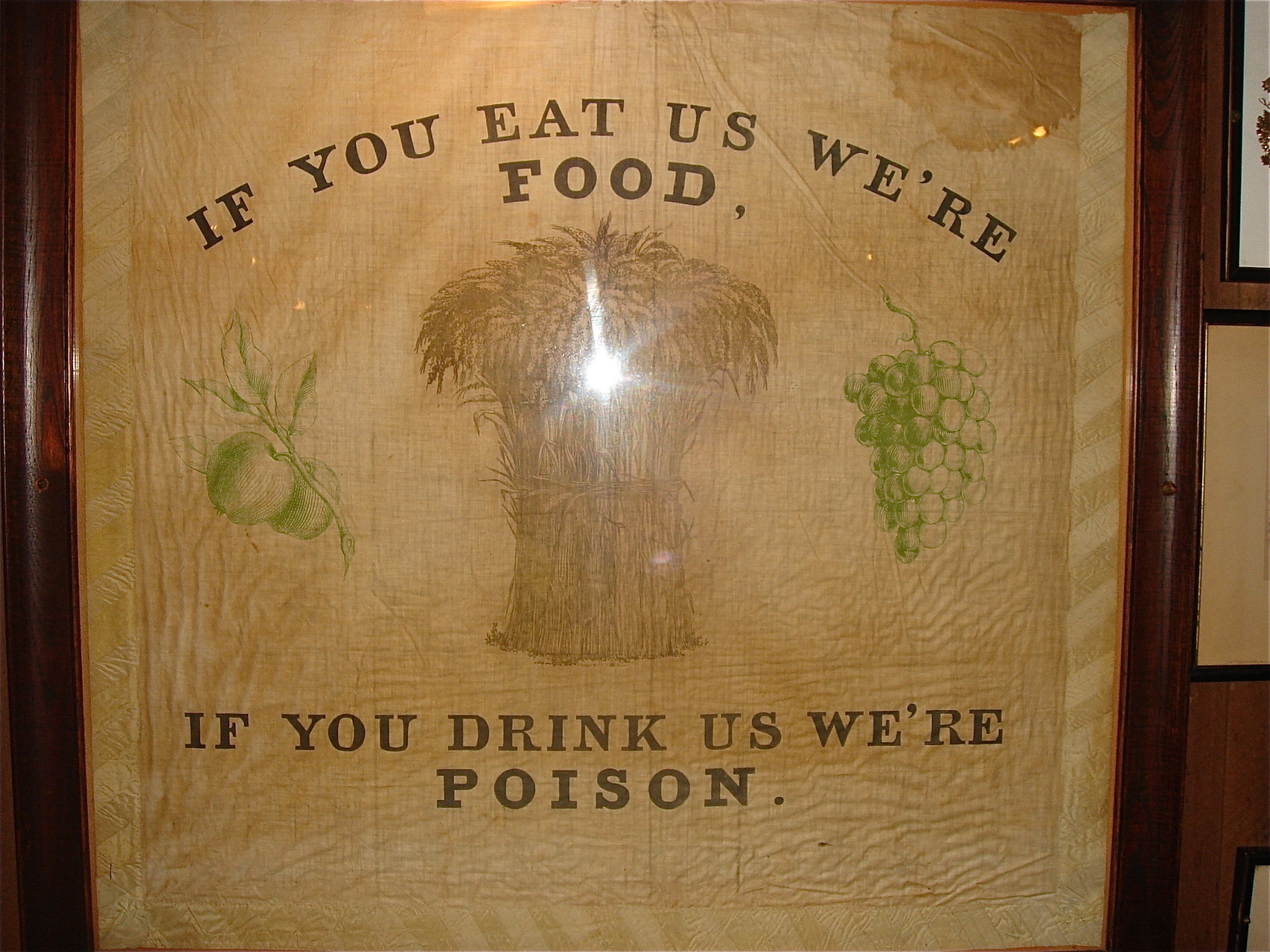 Old Saying from the Griswold Inn!