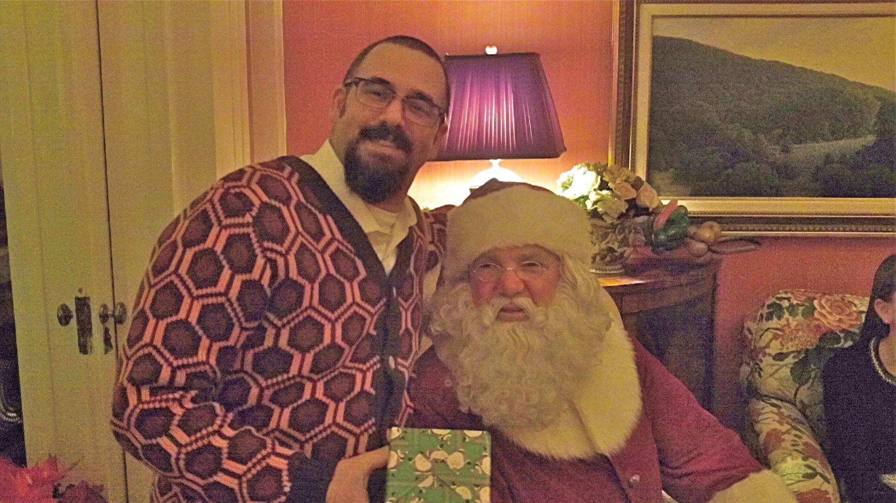 Colin Cherot & Santa