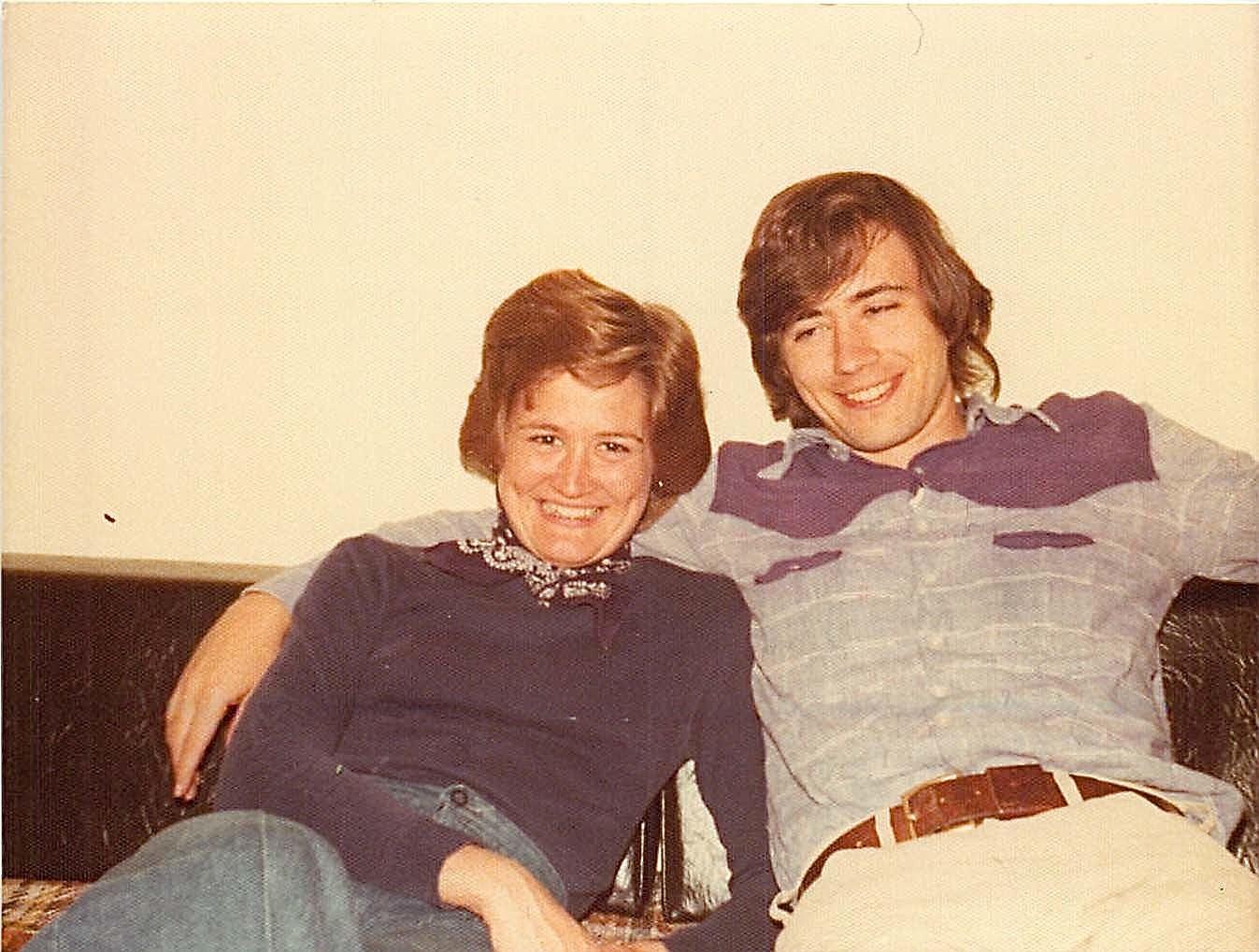 Sally & John Wagner, LA 1975