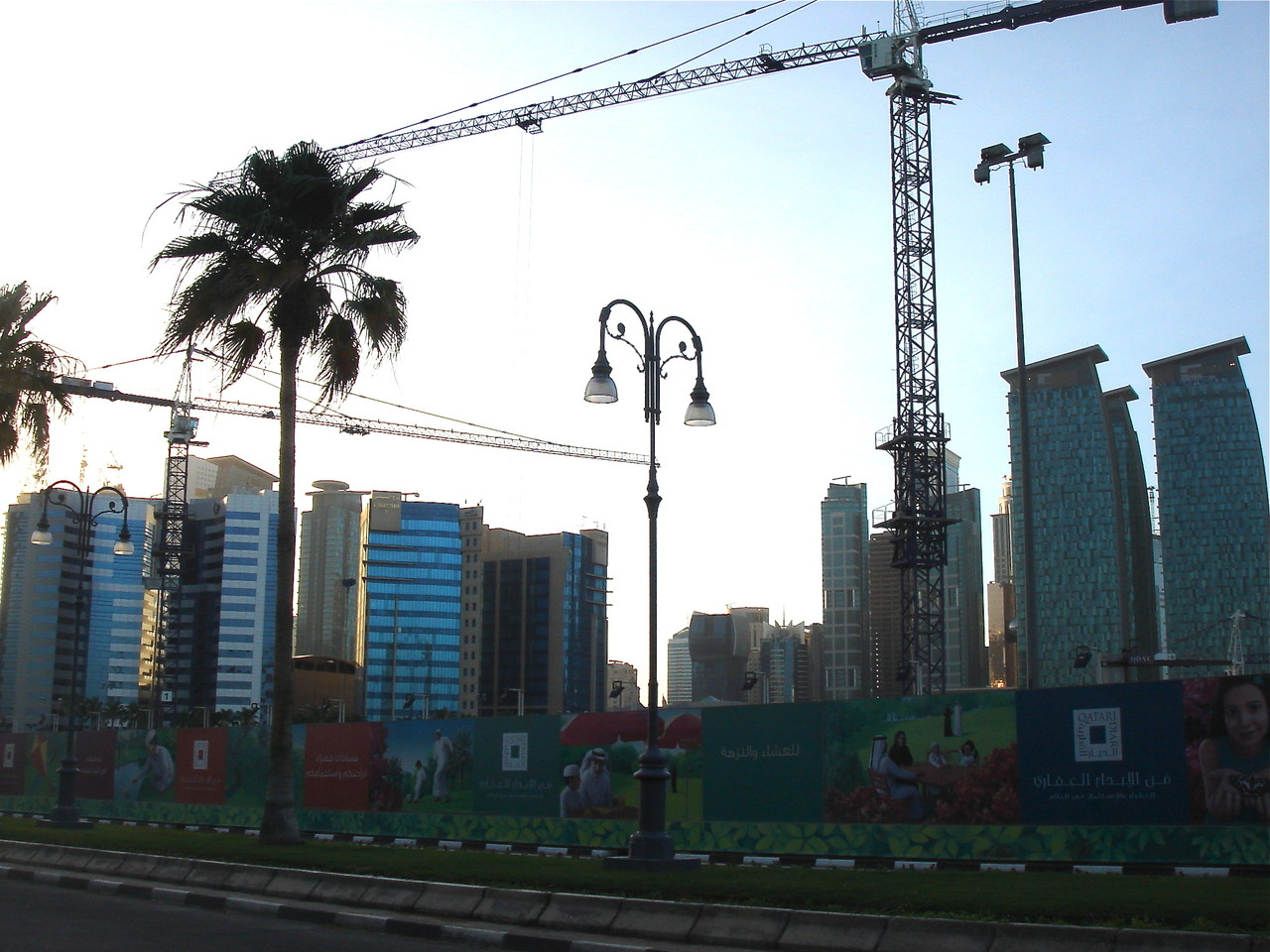 Lots of construction, Downtown, Doha
