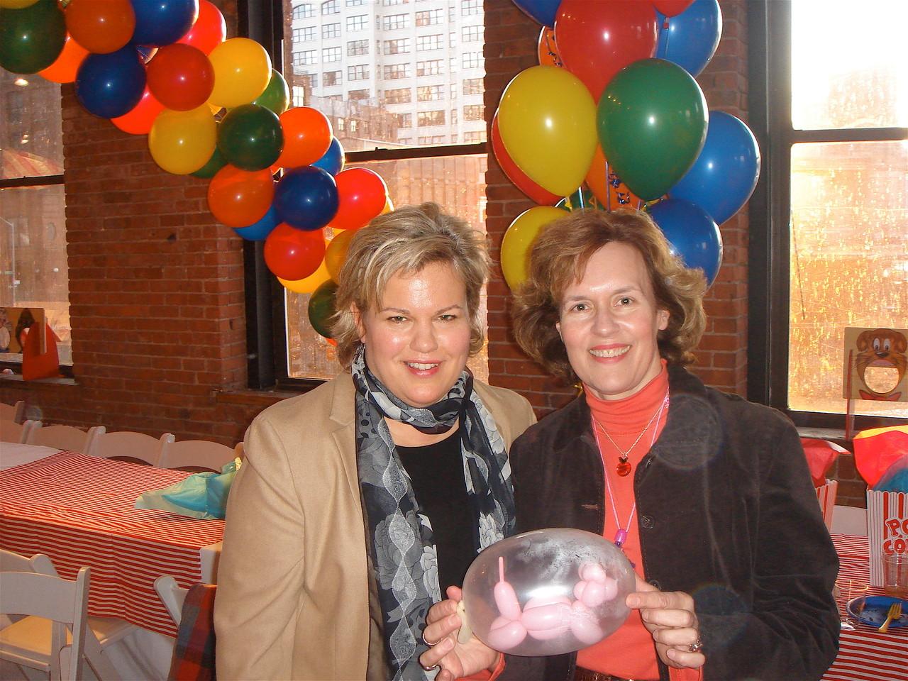 Celeste and Lorraine, 2006