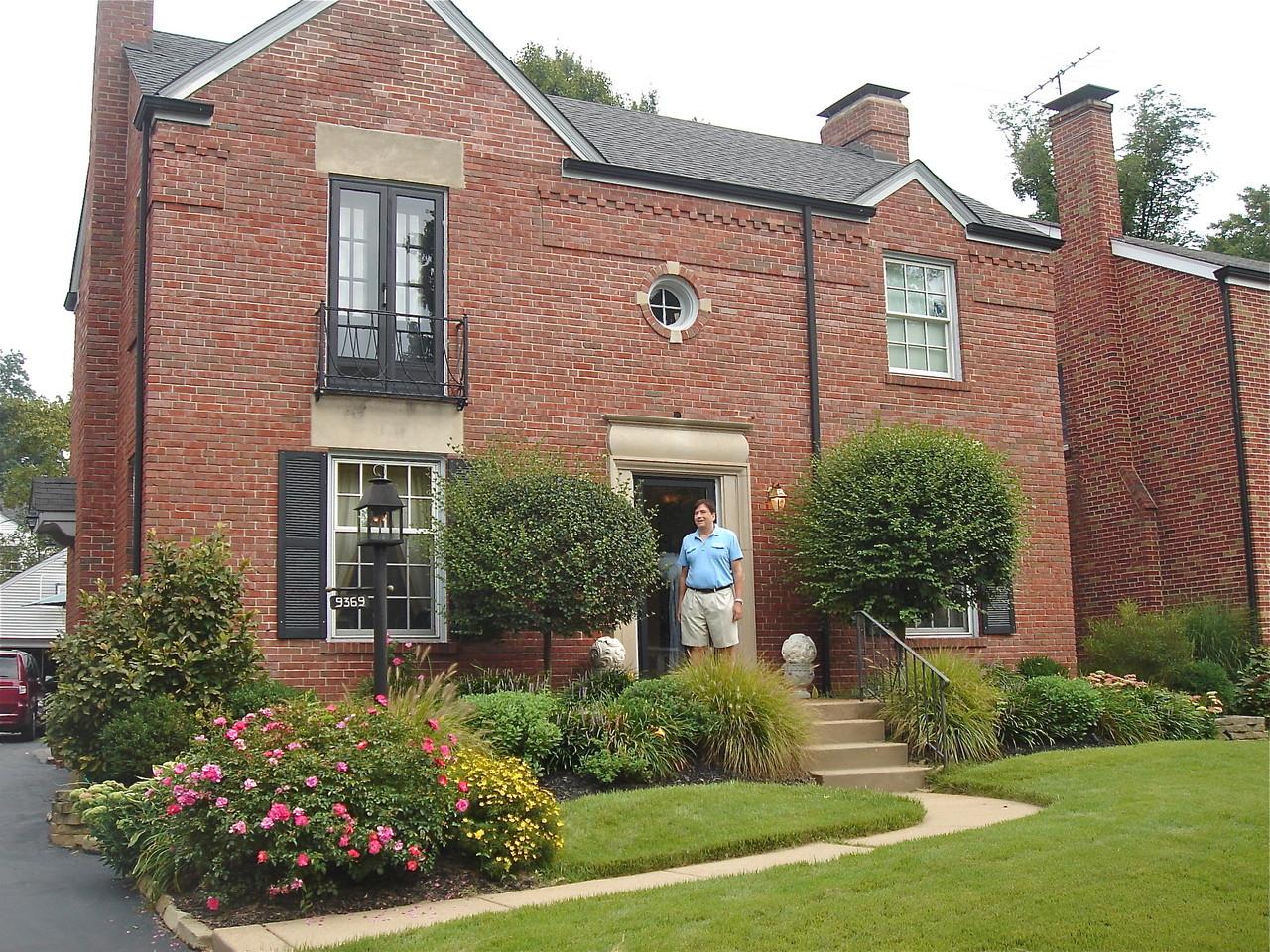 Sally & Tom's house, St. Louis, near Tile Park