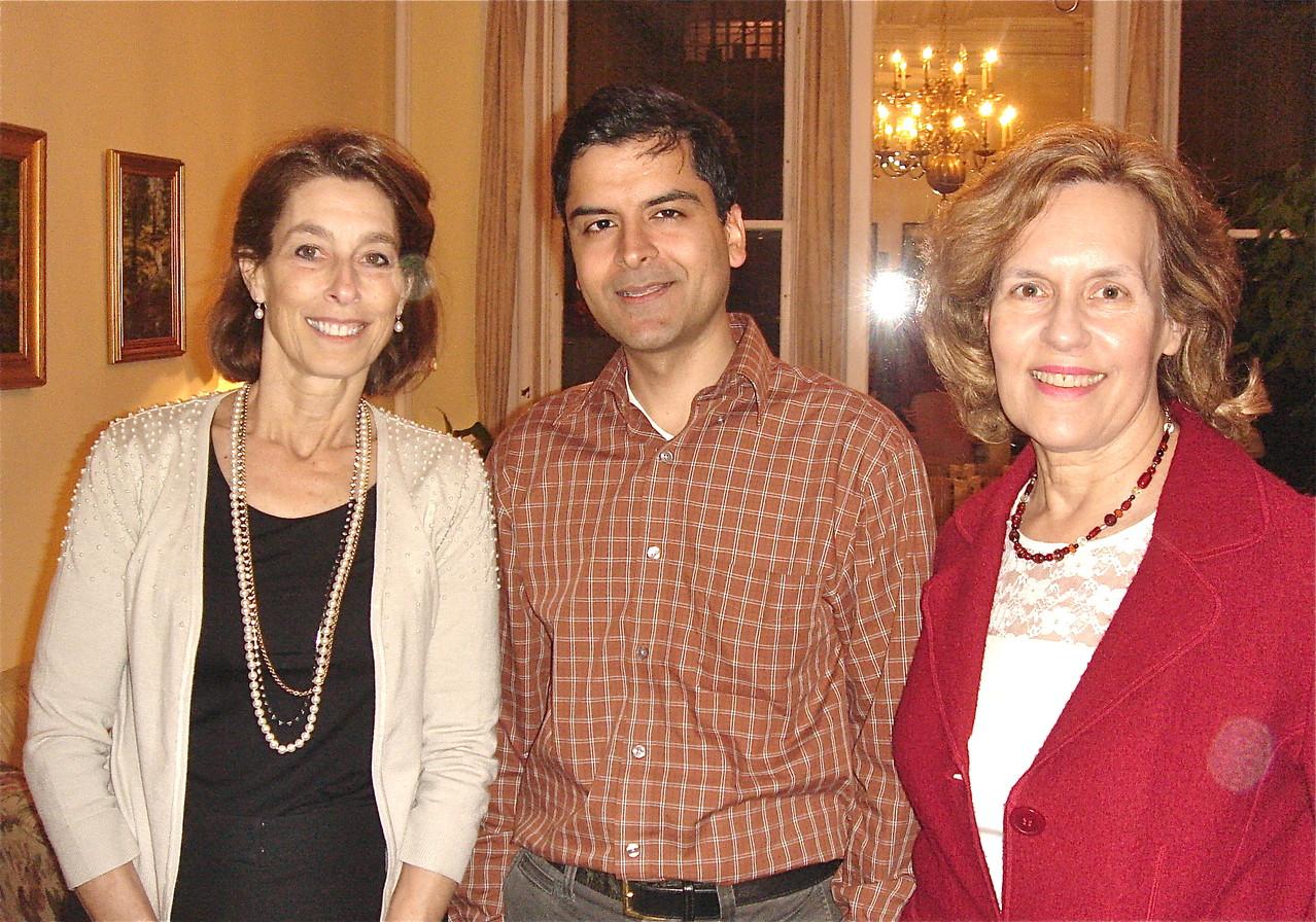 Dean Glimcher, Dr. Jaffrey, & Dr. Gudas, Feb. 2013
