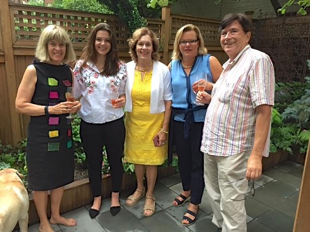 Nancy, Kate, Lorraine, Celeste, & John  August 2, 2017
