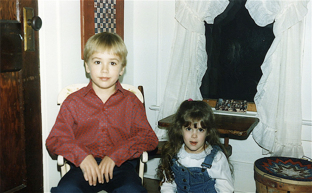Greg Wagner (Lorraine & John's son) & Casey Rich (Marcia & Rusty's daughter) about 1987