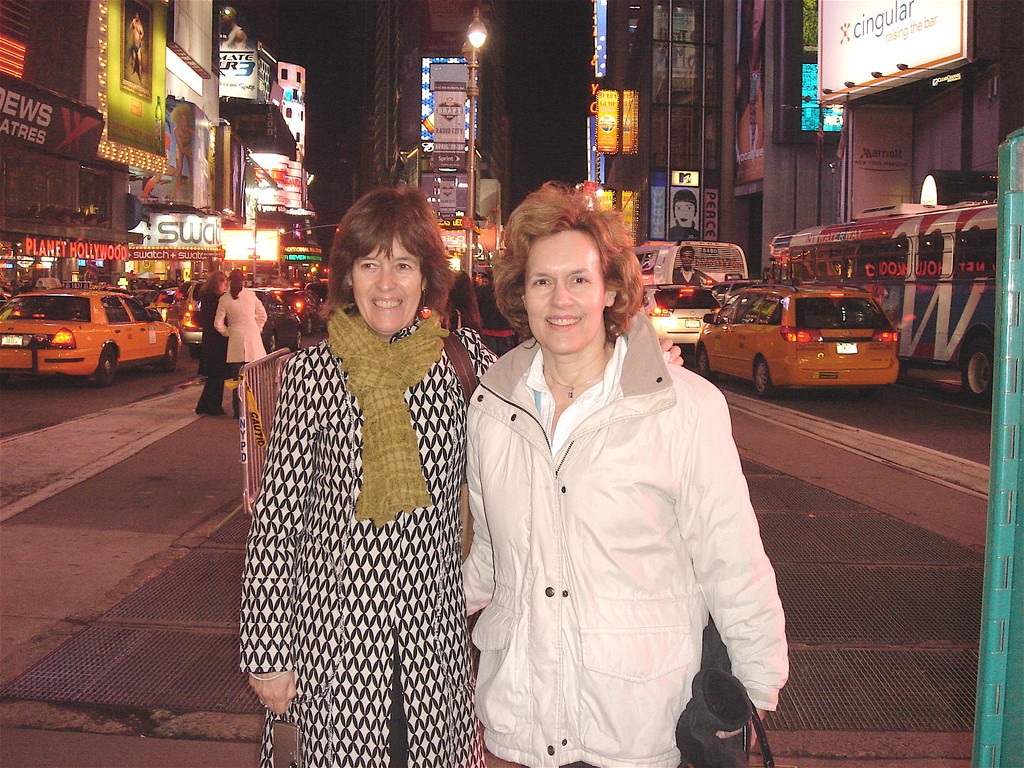 Nancy and Lorraine, Broadway, NYC