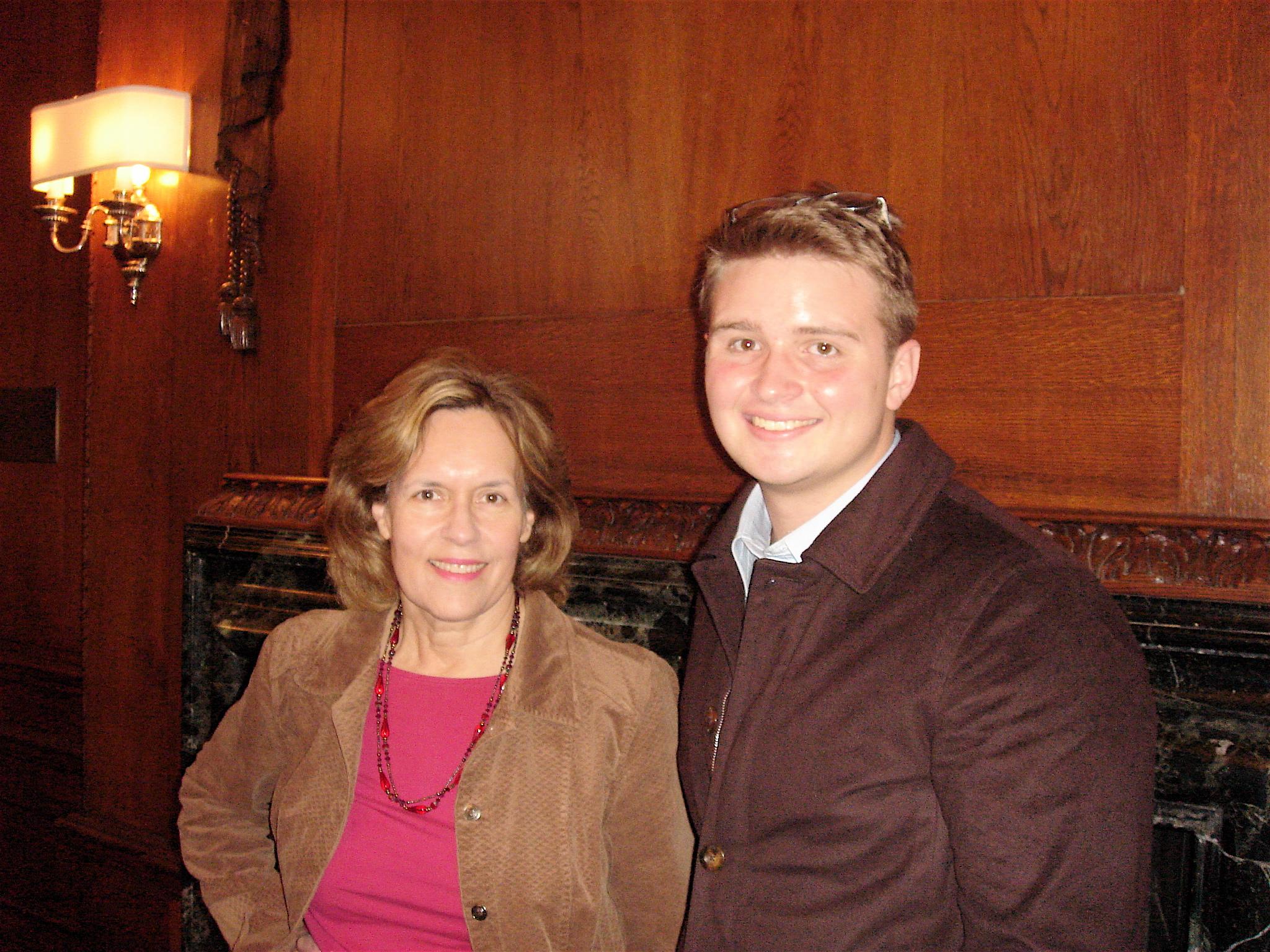 Lorraine Gudas & George, Yale