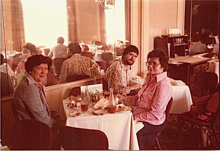Eleanor Bogden Gudas, John Wagner, & Mayme Baldyga, Warsaw, 1978
