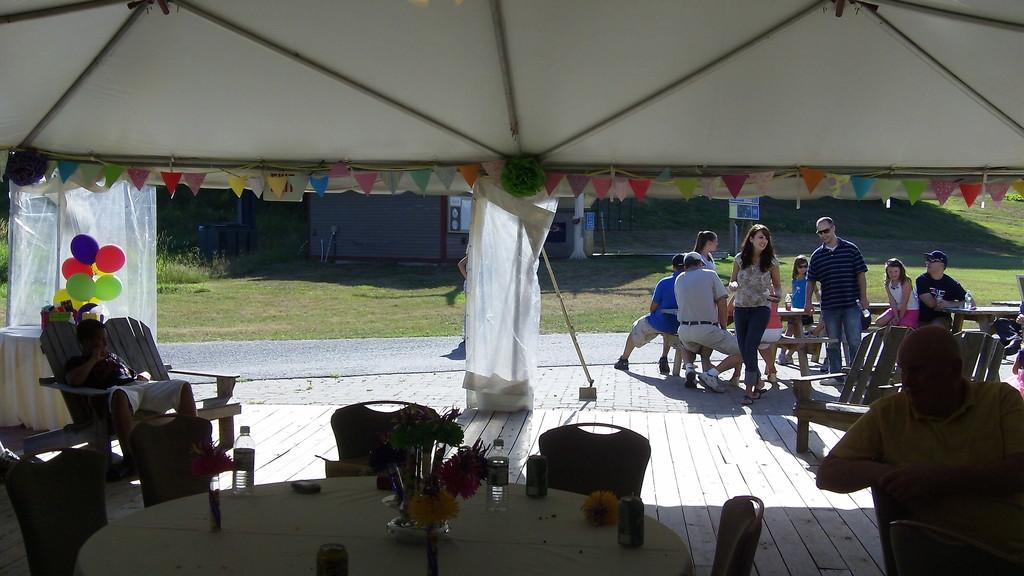 party at Wachusett Mtn.