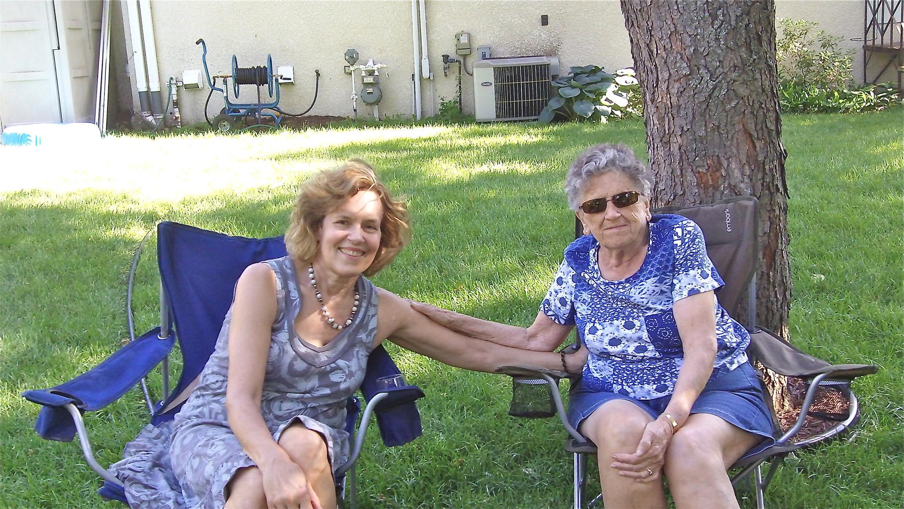 Lorraine Gudas & Mary Lou Wagner