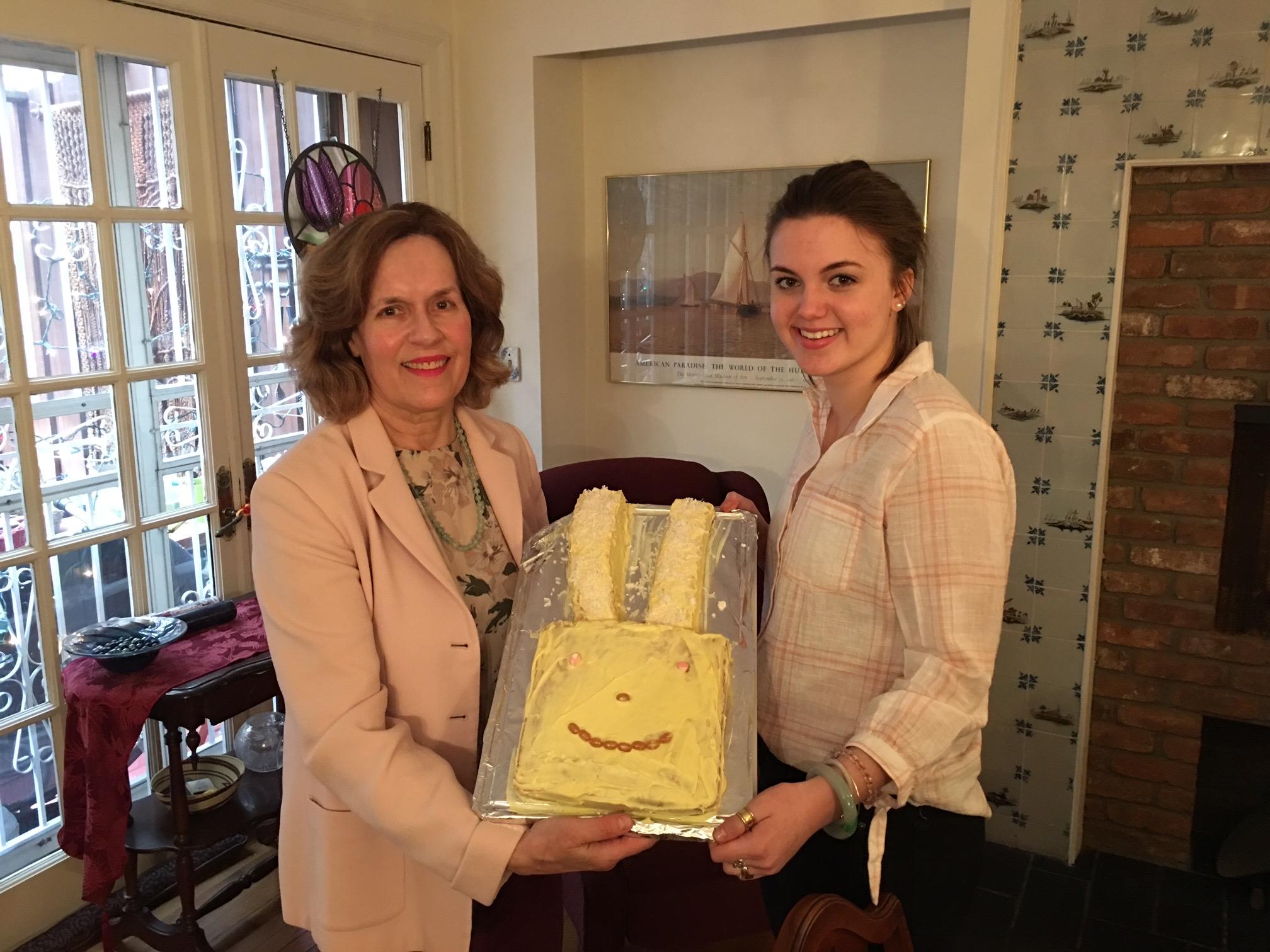 Lorraine & Kate, Easter, 2018