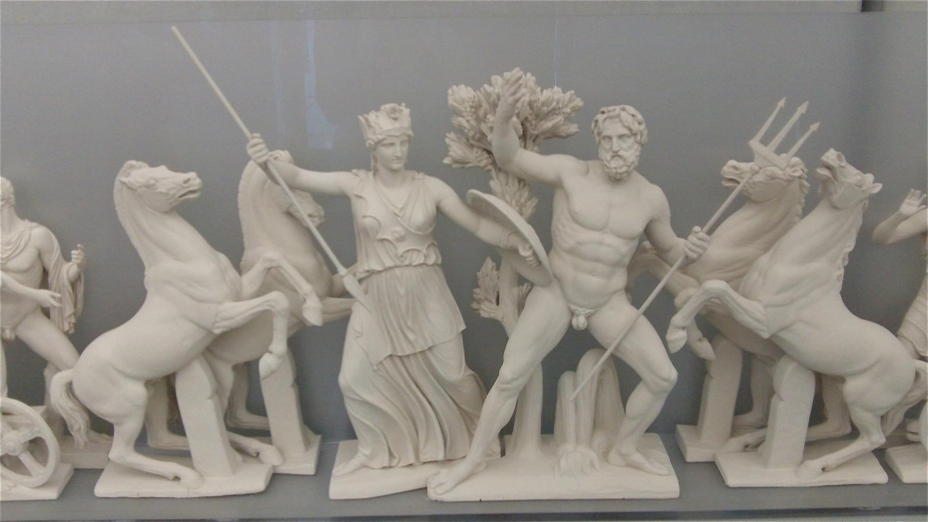 Athena and Poseidon, Acropolis Museum