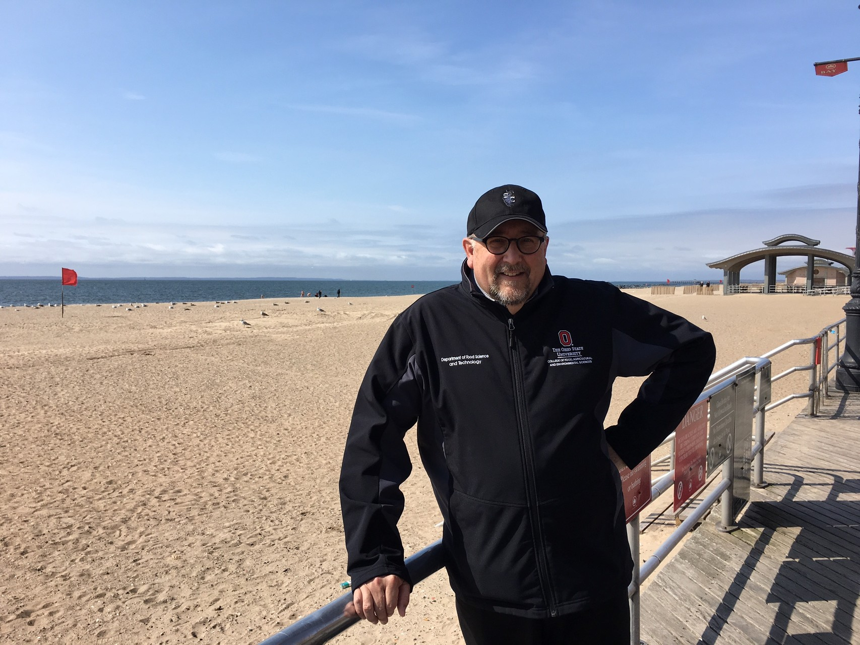 Dr. Steve Clinton in Brighton Beach, Brooklyn March 27, 2016