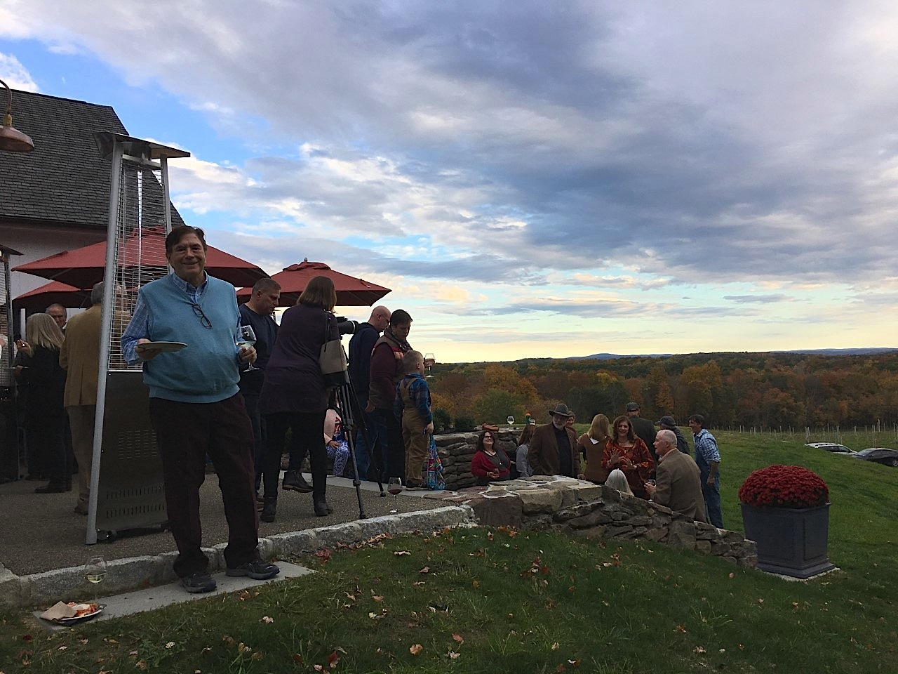 opening of the Milea Winery in the Hudson Valley, October 12, 2019