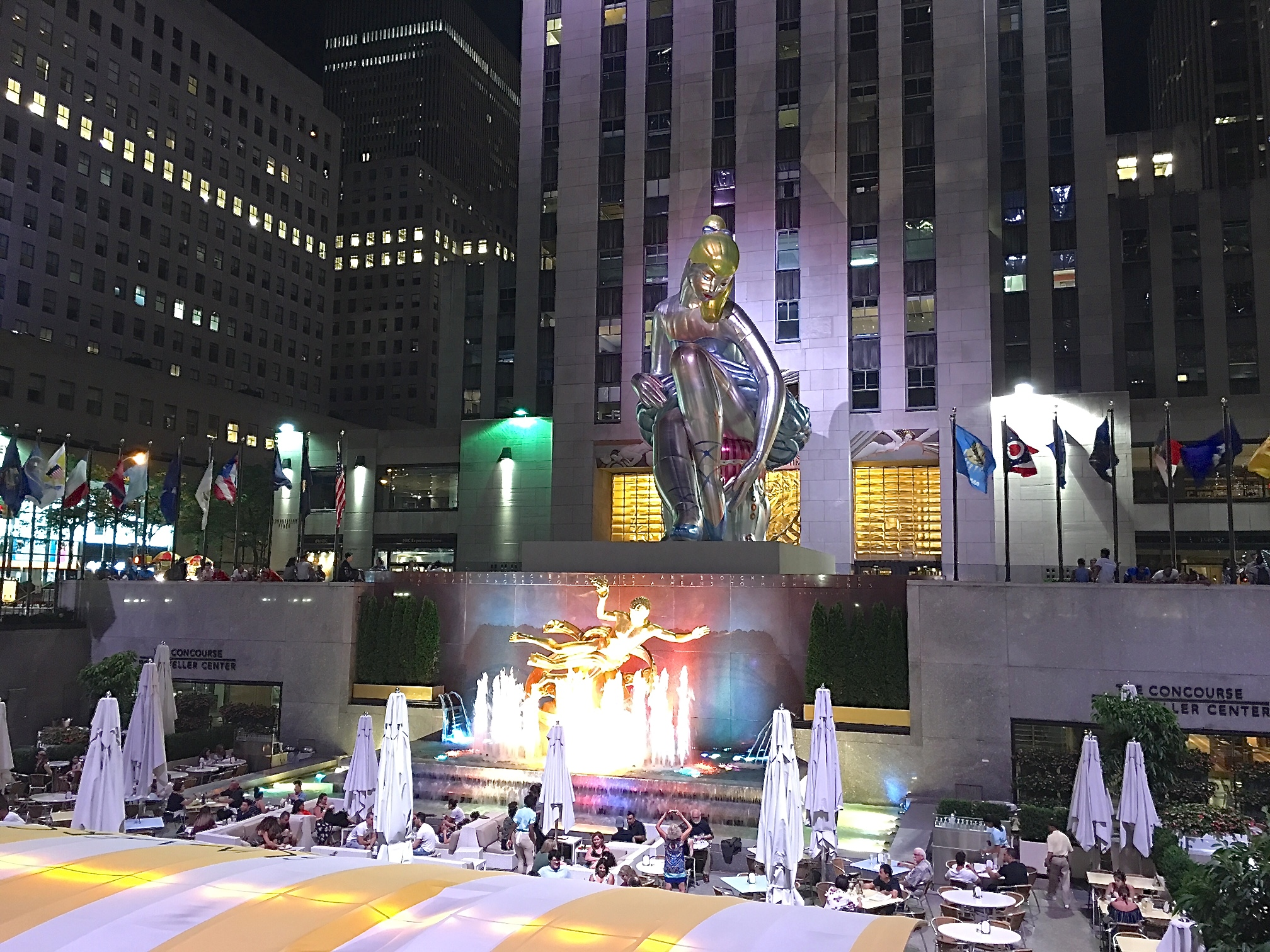 Rockefeller Center, NYC June 24, 2017