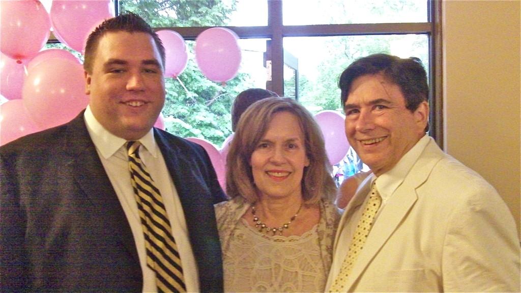 Greg Wagner, Lorraine Gudas & John Wagner