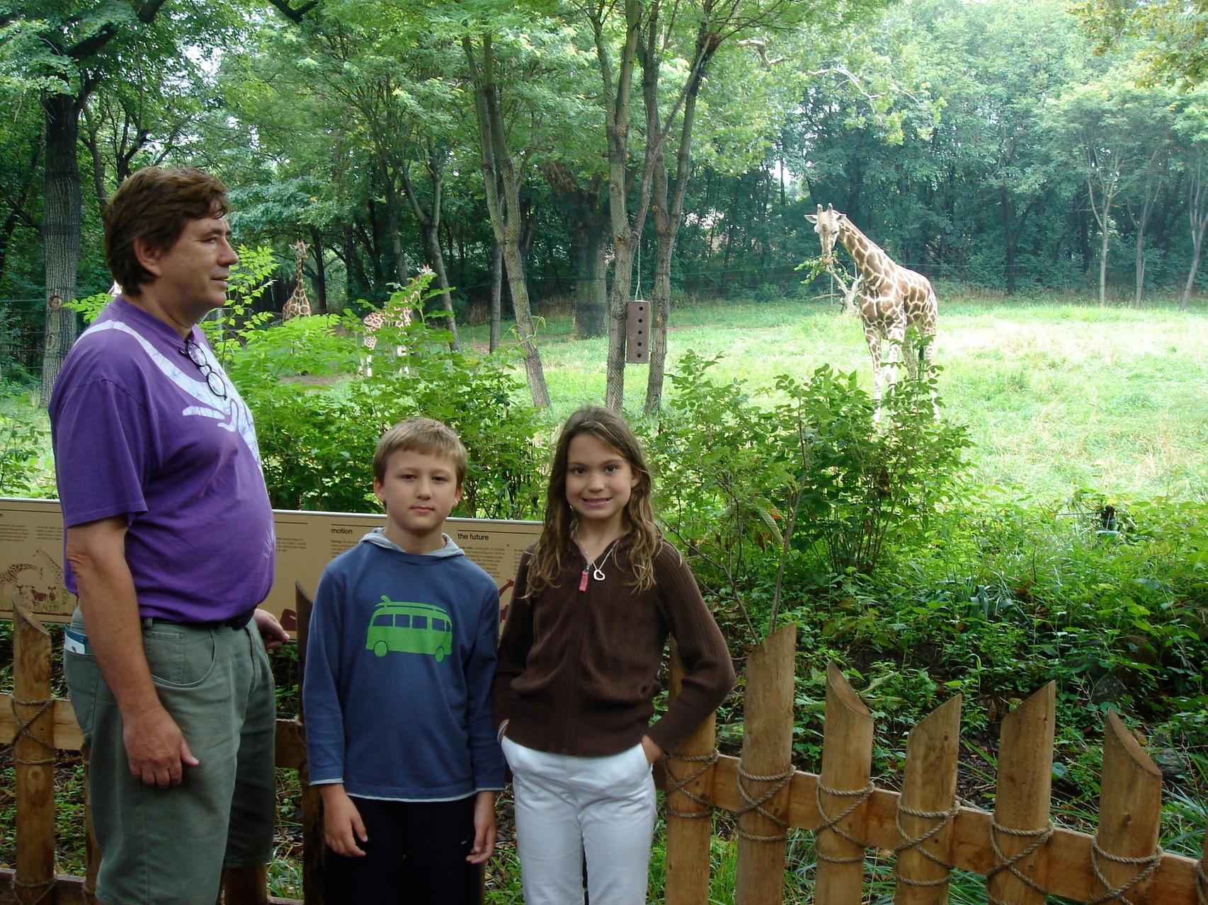 John Wagner, Jack & Kate Kagel, 2004 Bronx Zoo