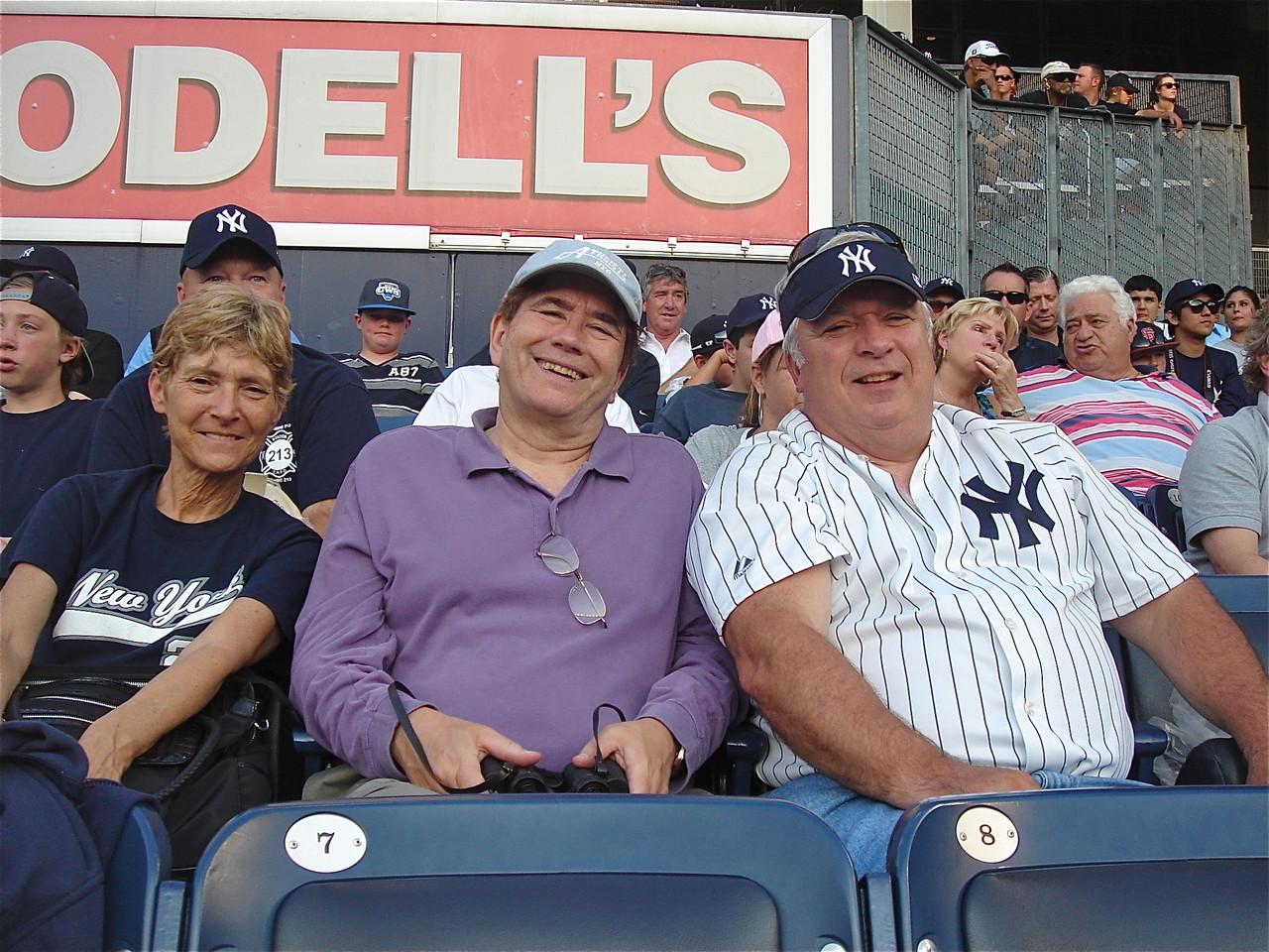 John & his cousin Steve Theisen & Steve's wife Sue