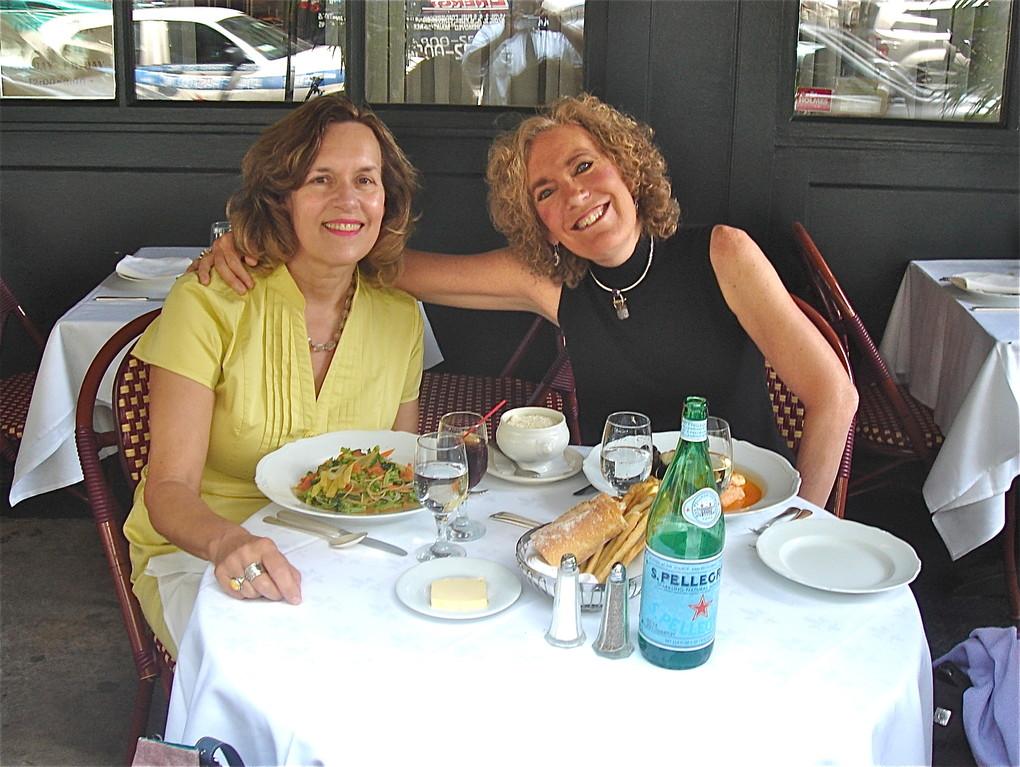 Lorraine Gudas & Elaine Fuchs, 7-11-12...classmates at Princeton