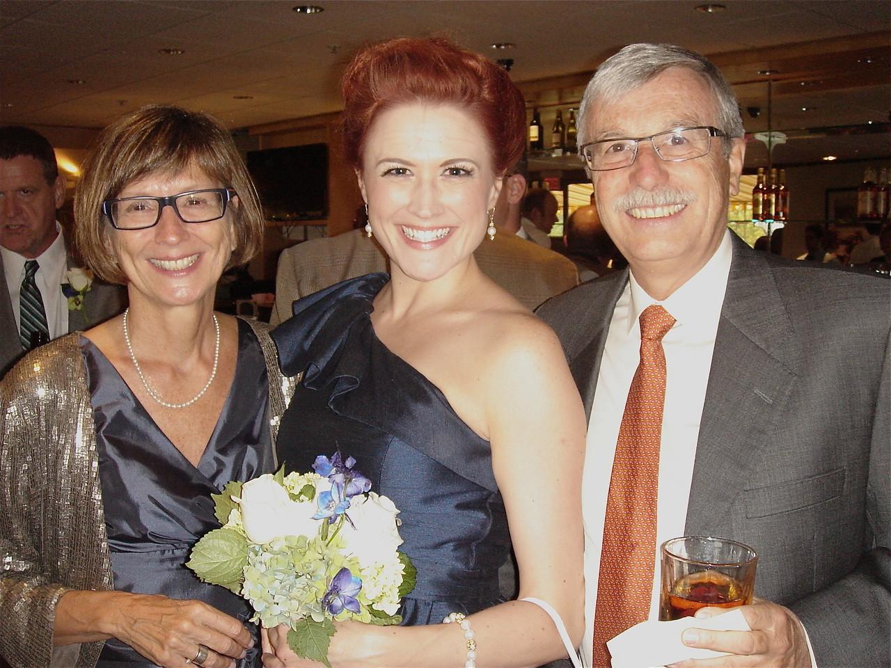 Jill, Sally's sister; Amy Schwarz; & Antonio