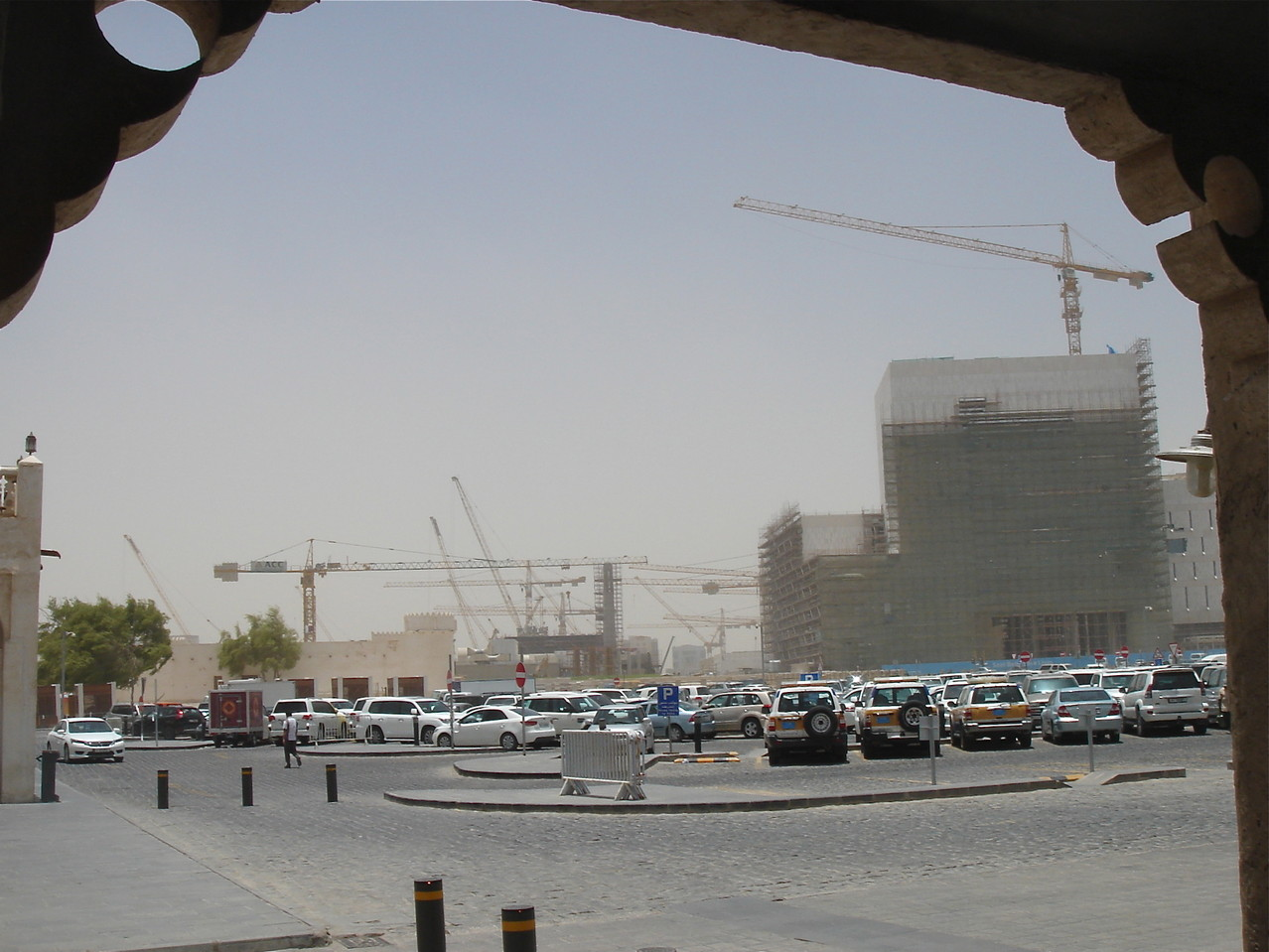 Construction near the Souq