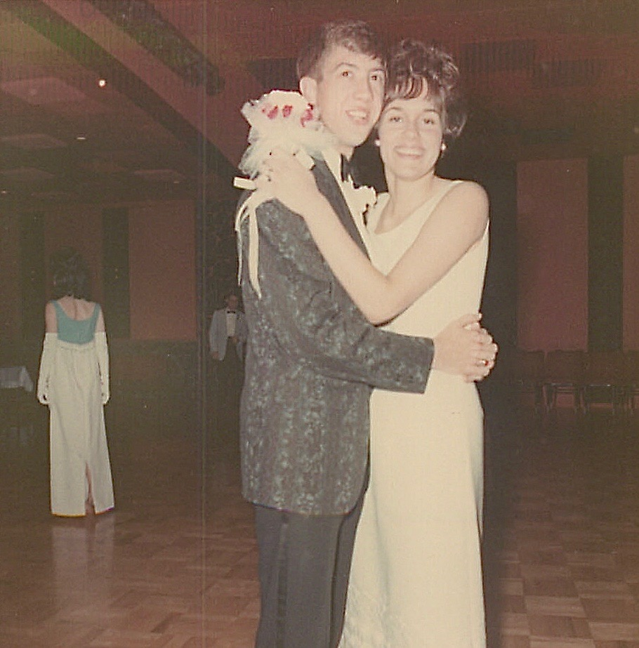 Convent School Sr. Prom, with Doug Aller