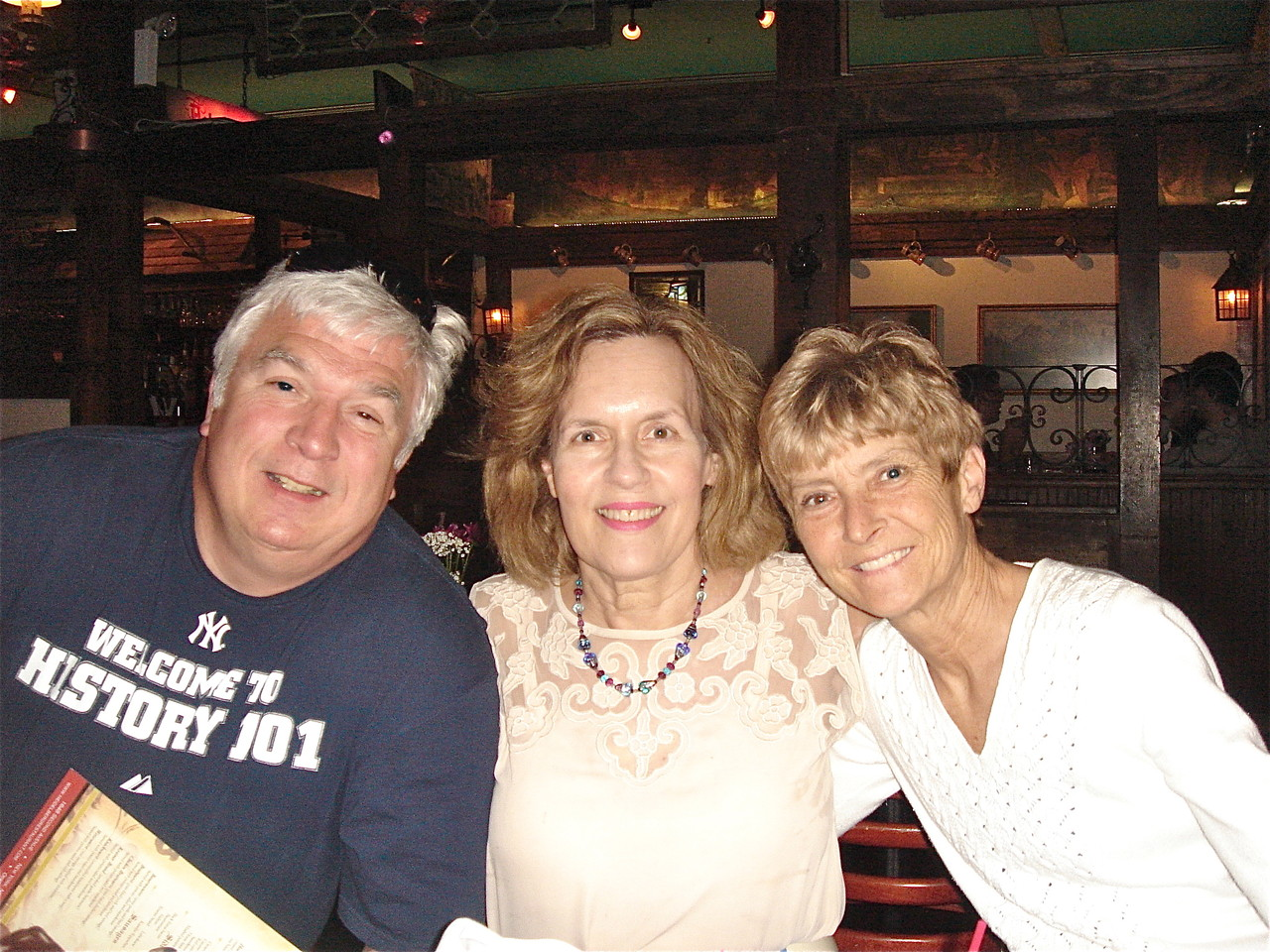 Steve Theisen, Lorraine, & Sue Theisen