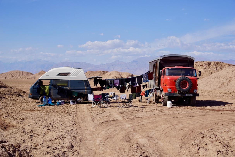 Waschtag - Weil es in der Wüste so viel Wasser gibt