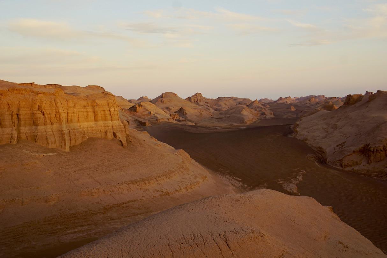 Morgenstimmung in der Wüste