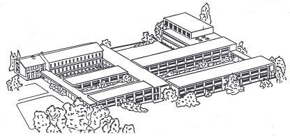 Die Verbandschule aus den 70er Jahren des vergangenen Jahrhunderts