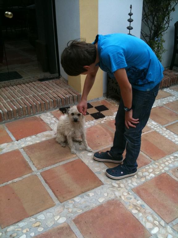 Strupi mit Manuel