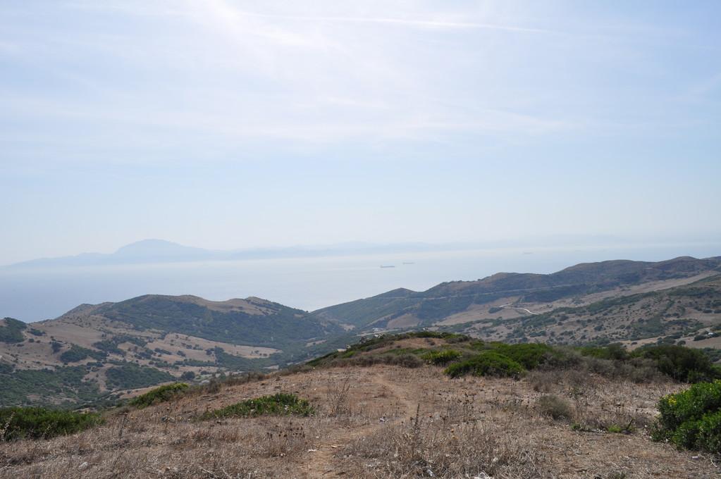 Aussichtspunkt mit Sicht auf Nordafrika