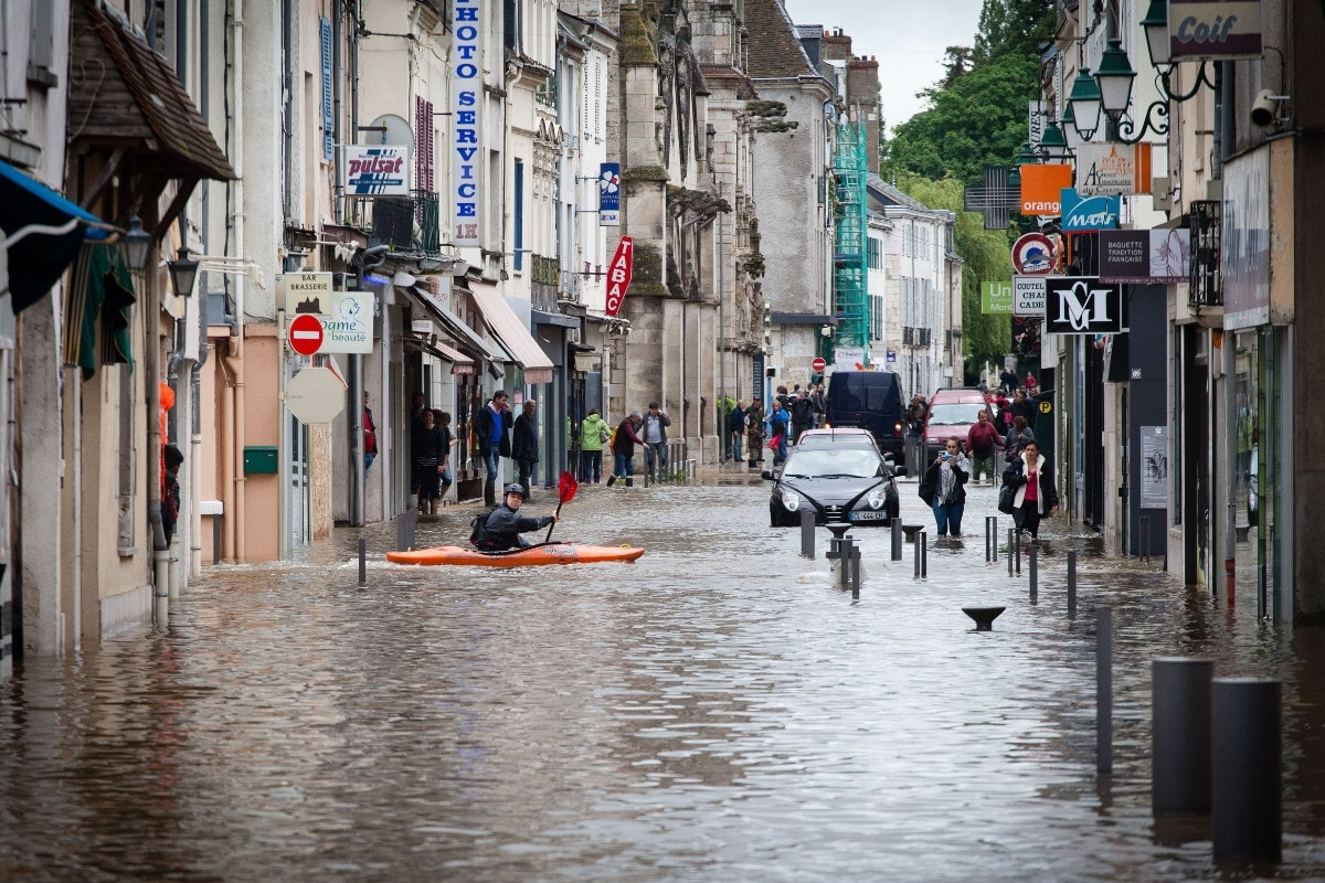 Inondation Juin 2016 Centre de la France