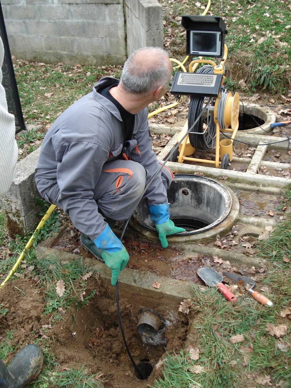 Inspection vidéo des réseaux eaux usées et eaux pluviales